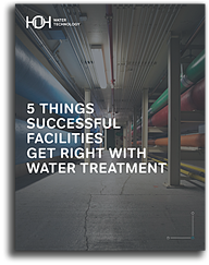 5 Things Successful Facilities Get Right With Water Treatment